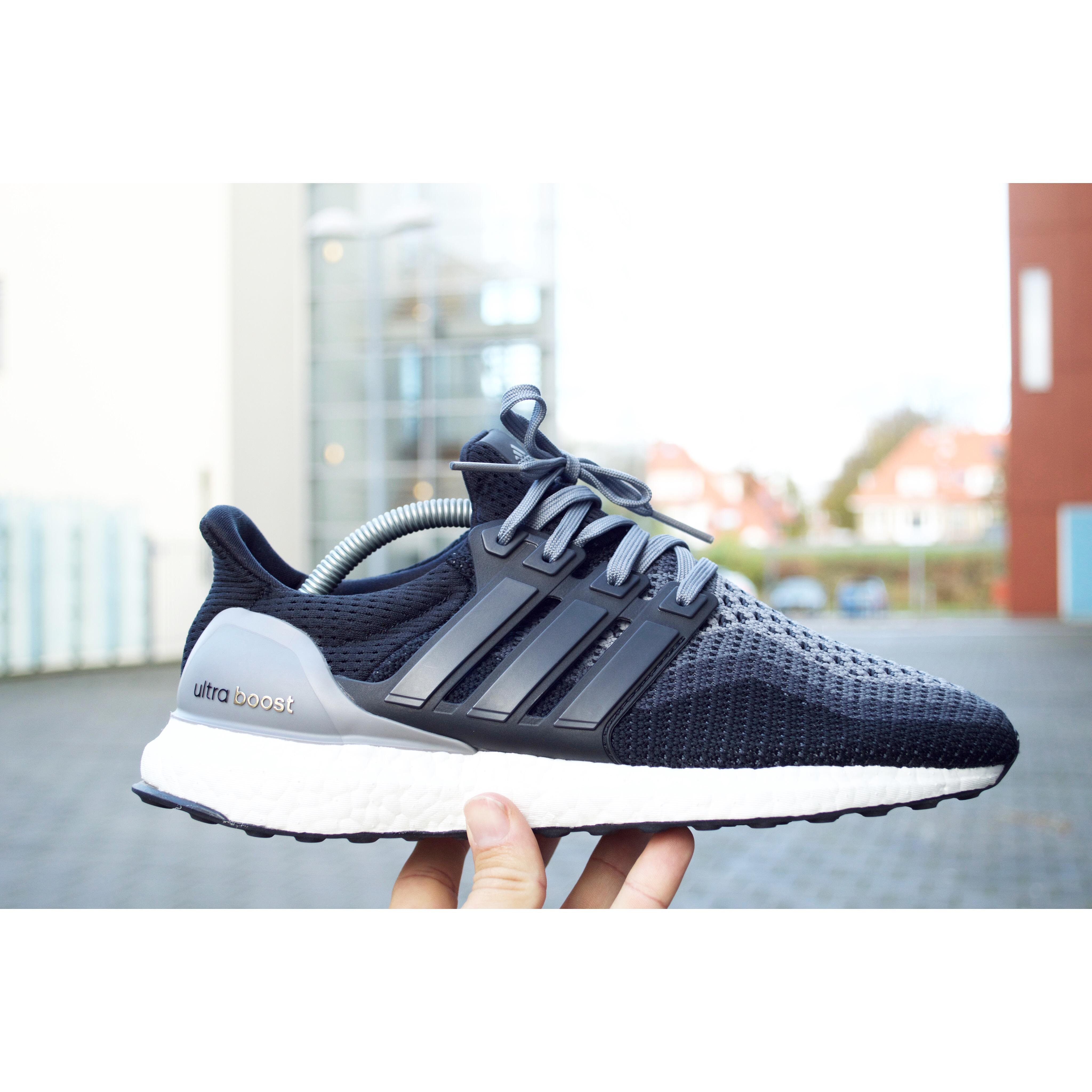adidas ultra boost grey black