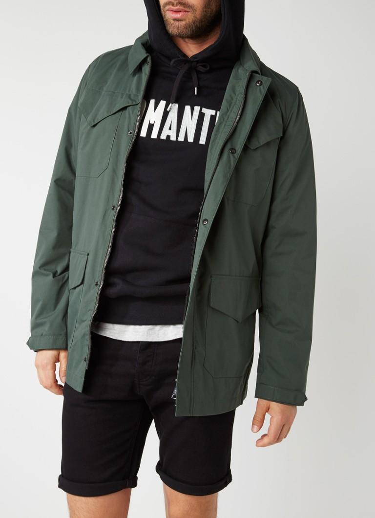WELTER SHELTER Fielder waterbestendig field jacket met klepzakken