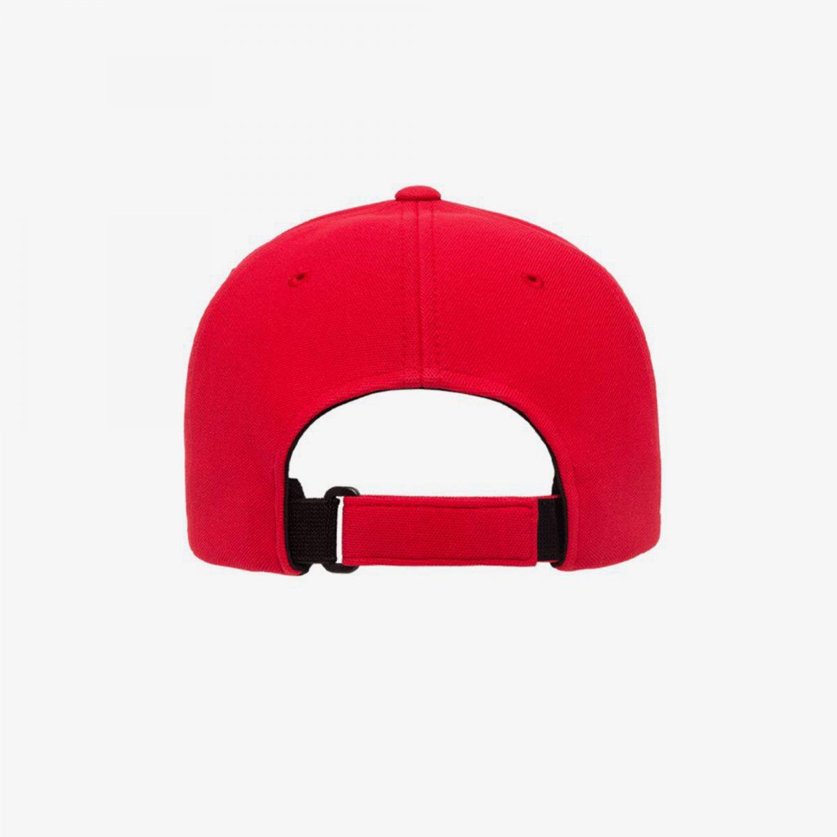 AFCA-Red-Limited-Flexfit-Back-Grey-Background