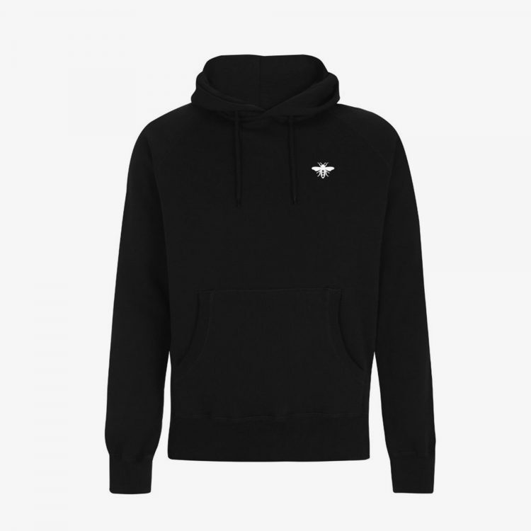 Heavy-Black-Hoodie-Front-Grey-Background