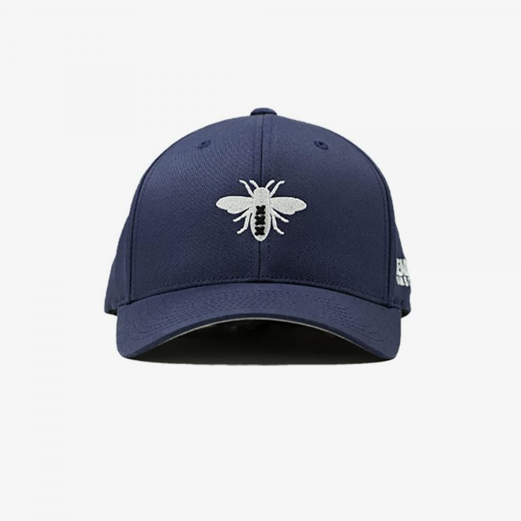 Navy-Blue-Flexfit-Front-Grey-Background