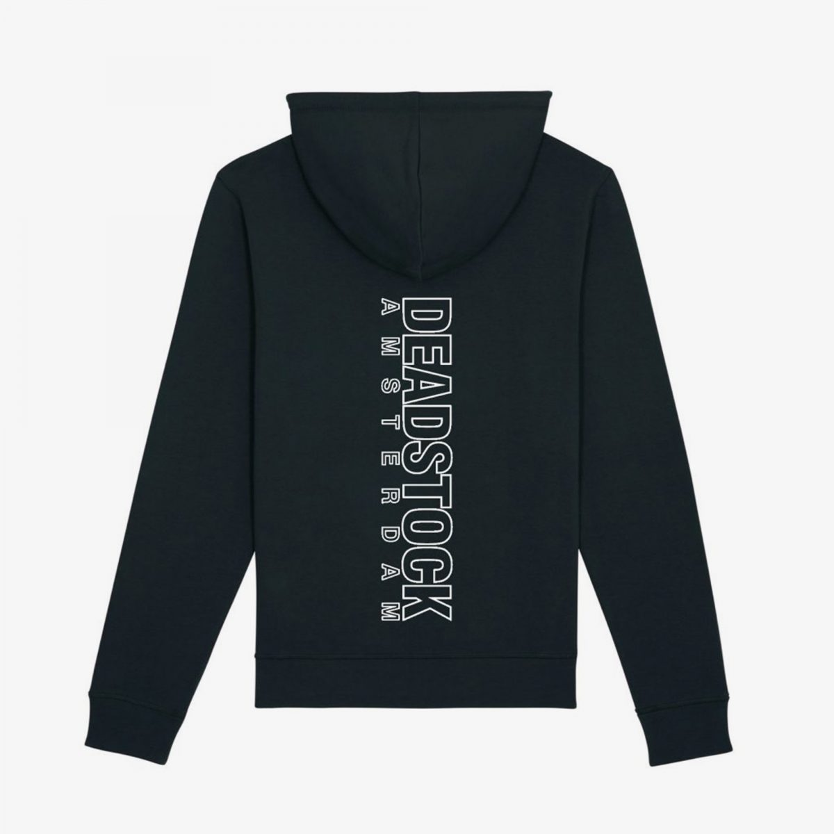 Return-Black-Hoodie-Back-Grey-Background