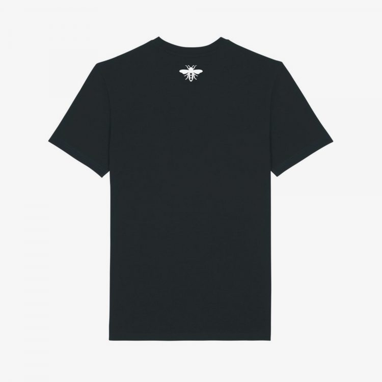 Return-Black-TShirt-Front-Grey-Background