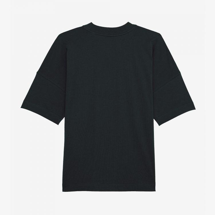 Oversized-Shirt-Zwart-Deadstock-2021-Back