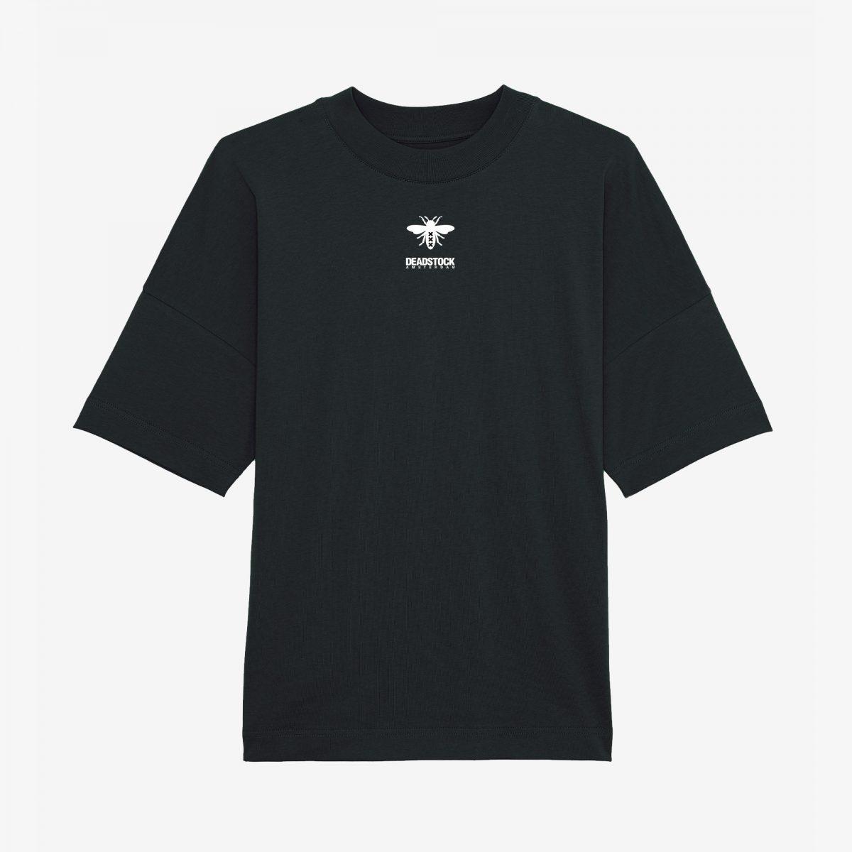 Oversized-Shirt-Zwart-Deadstock-2021-Front