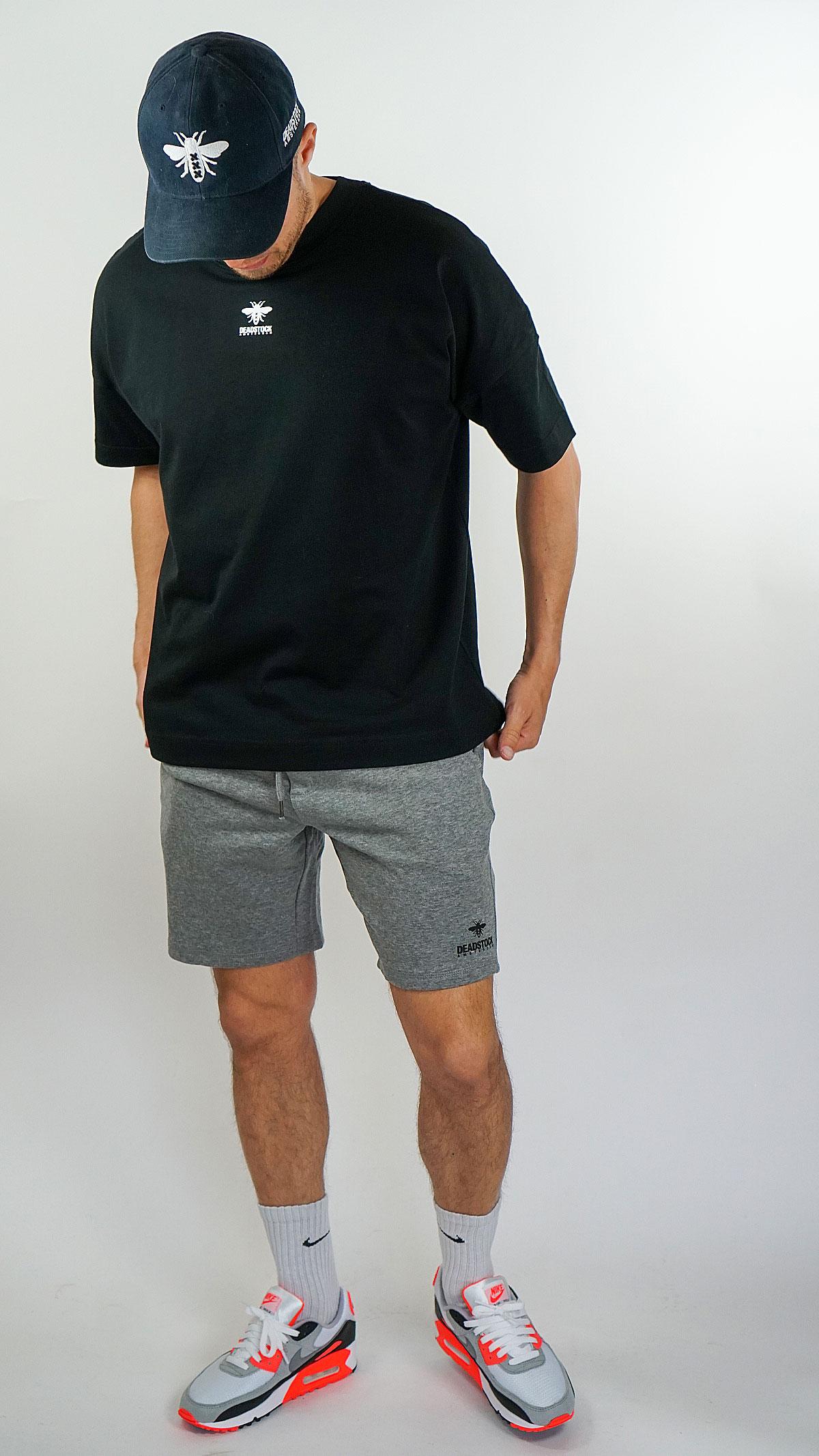 oversized shirt light grey short deadstock amsterdam