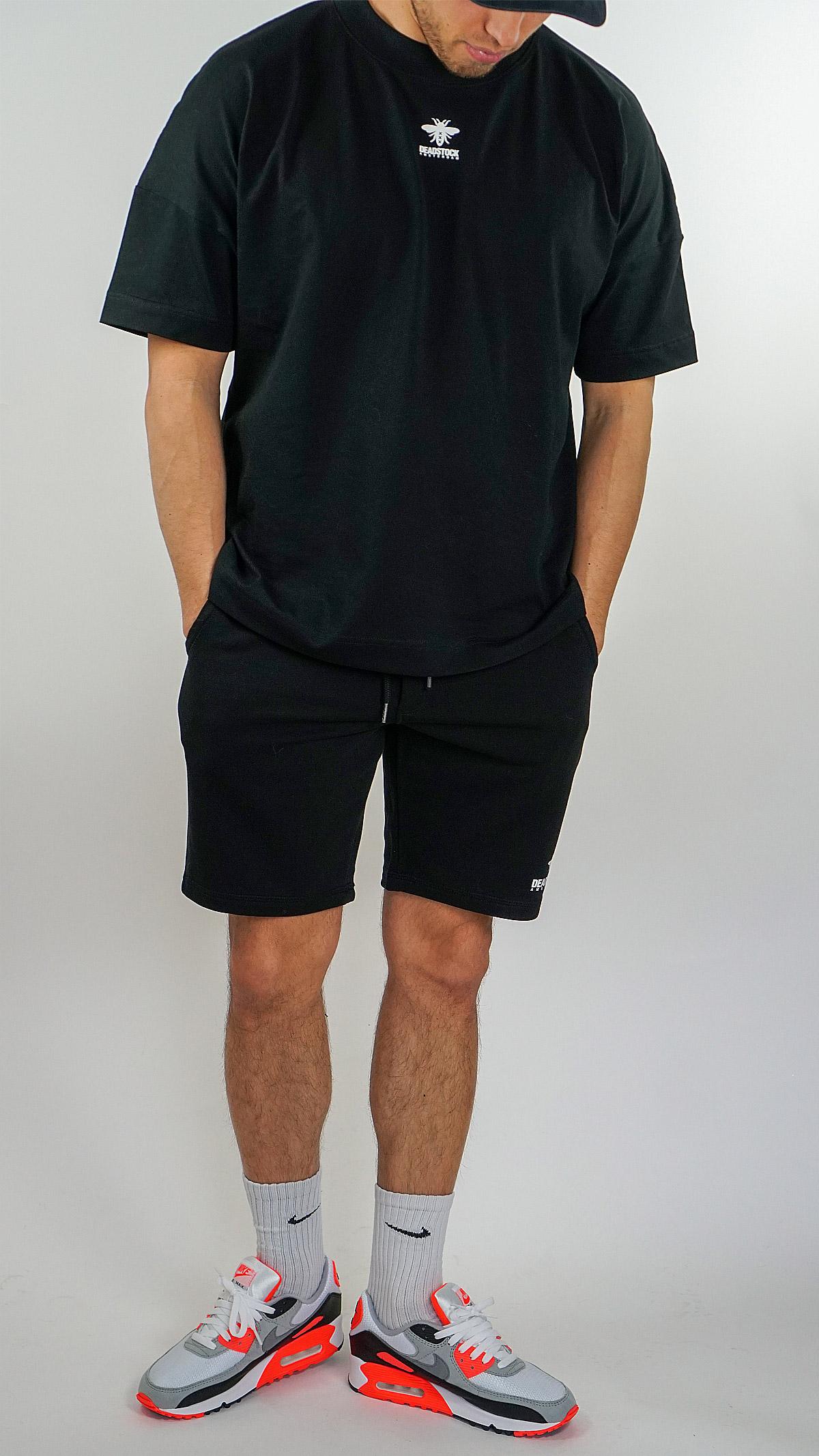 oversized shirt light black short deadstock amsterdam