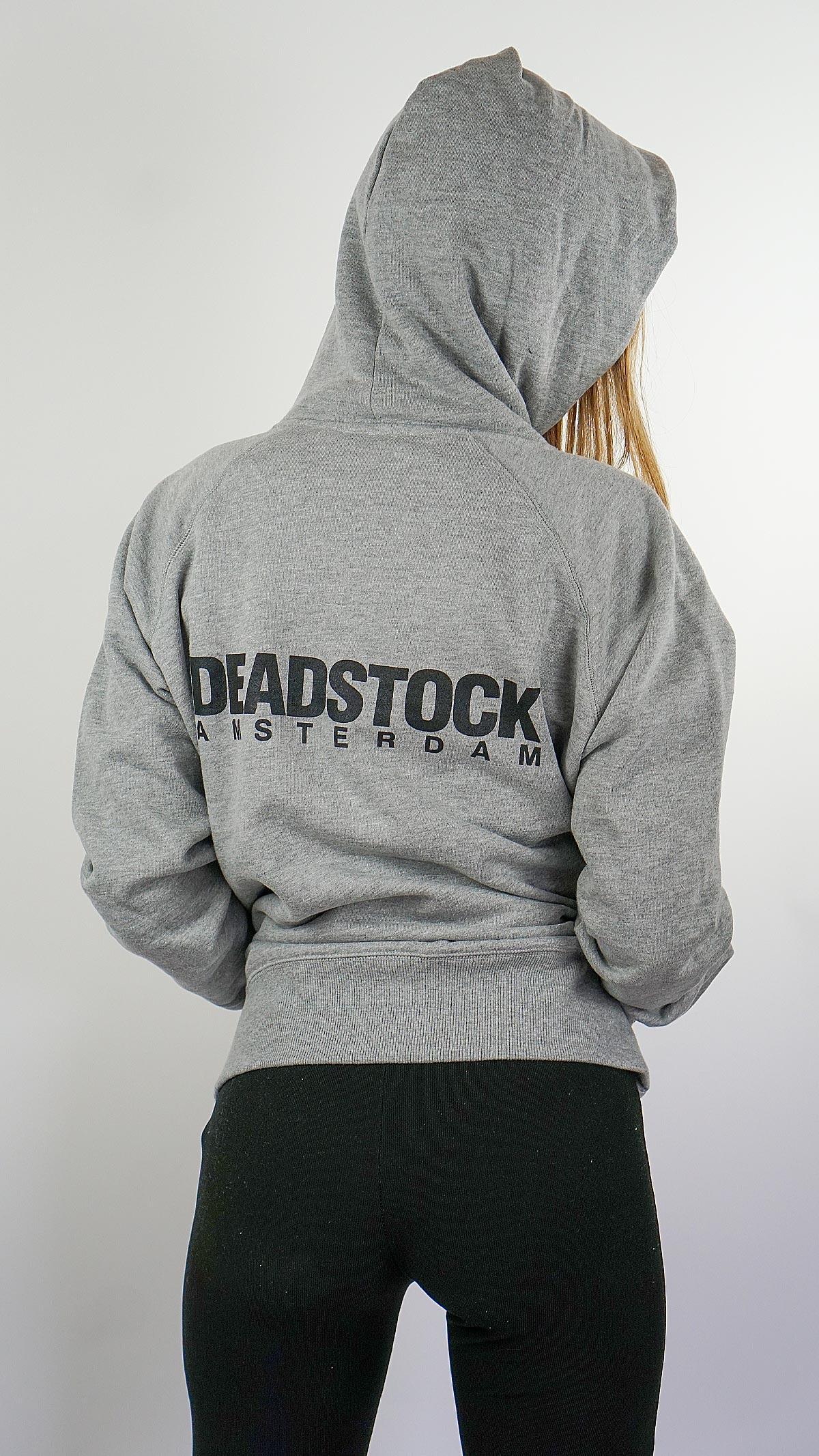 grey hoodie deadstock amsterdam 2021