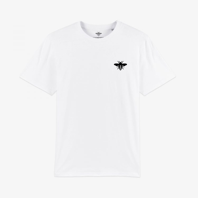 DS Heavy Classic White Tee Front
